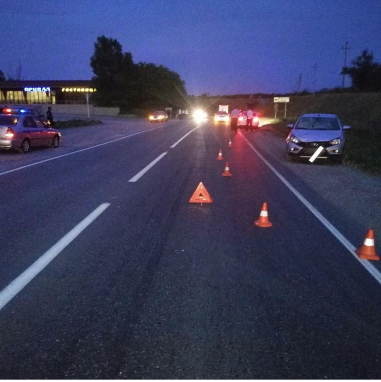 В черте города Новопавловска, был сбит 29-летний пешеход