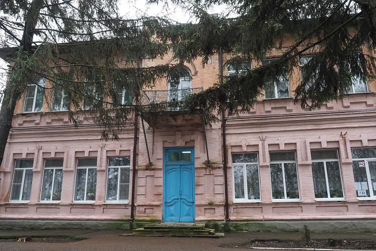 Школа №2 в городе Новопавловске